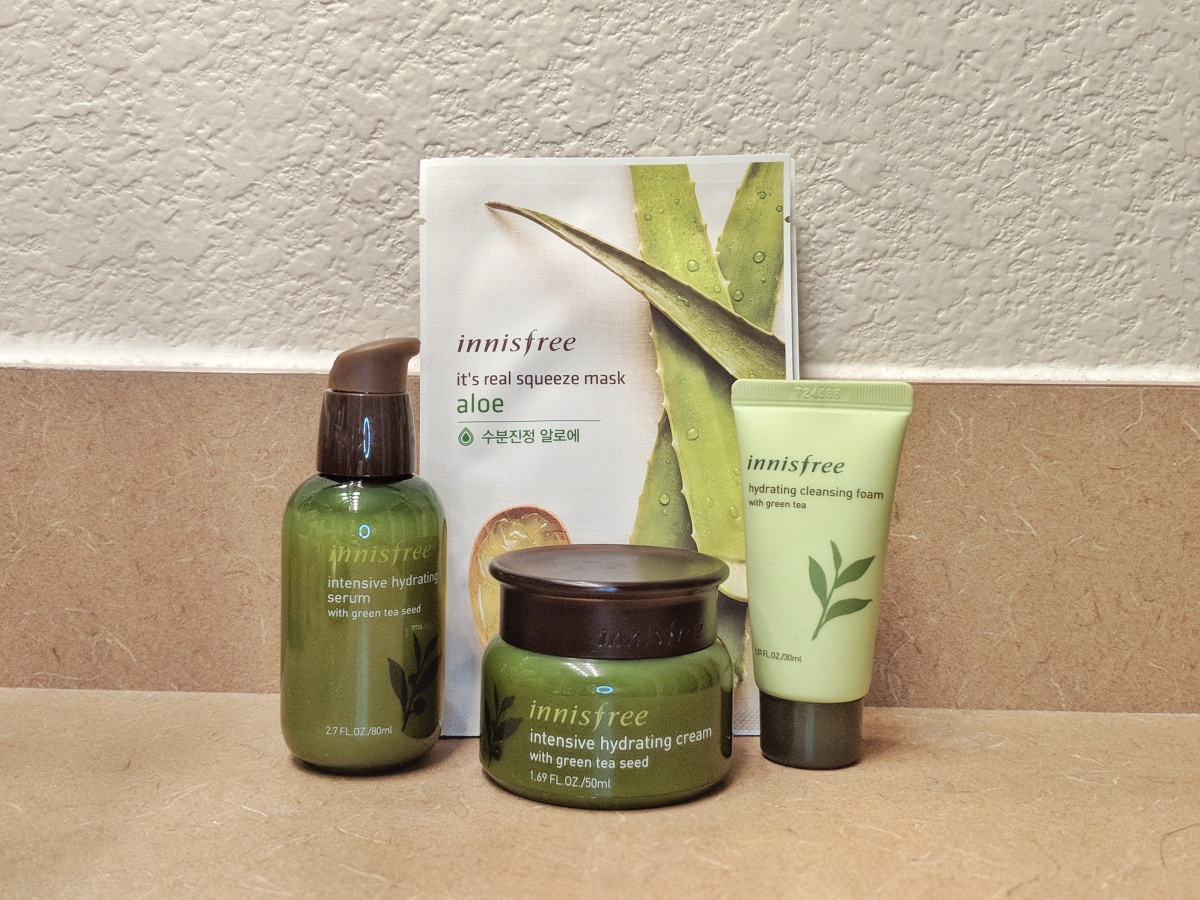 Foxy Fridays: Innisfree Skin Care Routine for Hydration