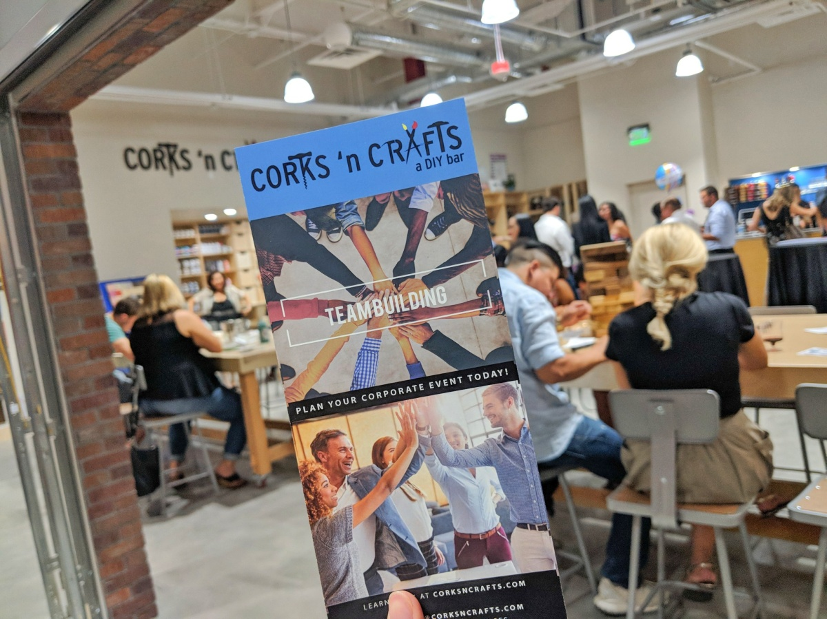 Corks 'n Crafts at Downtown Summerlin