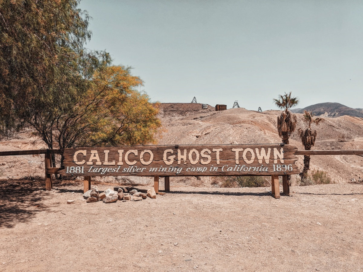 Travel Tuesdays: Calico Ghost Town