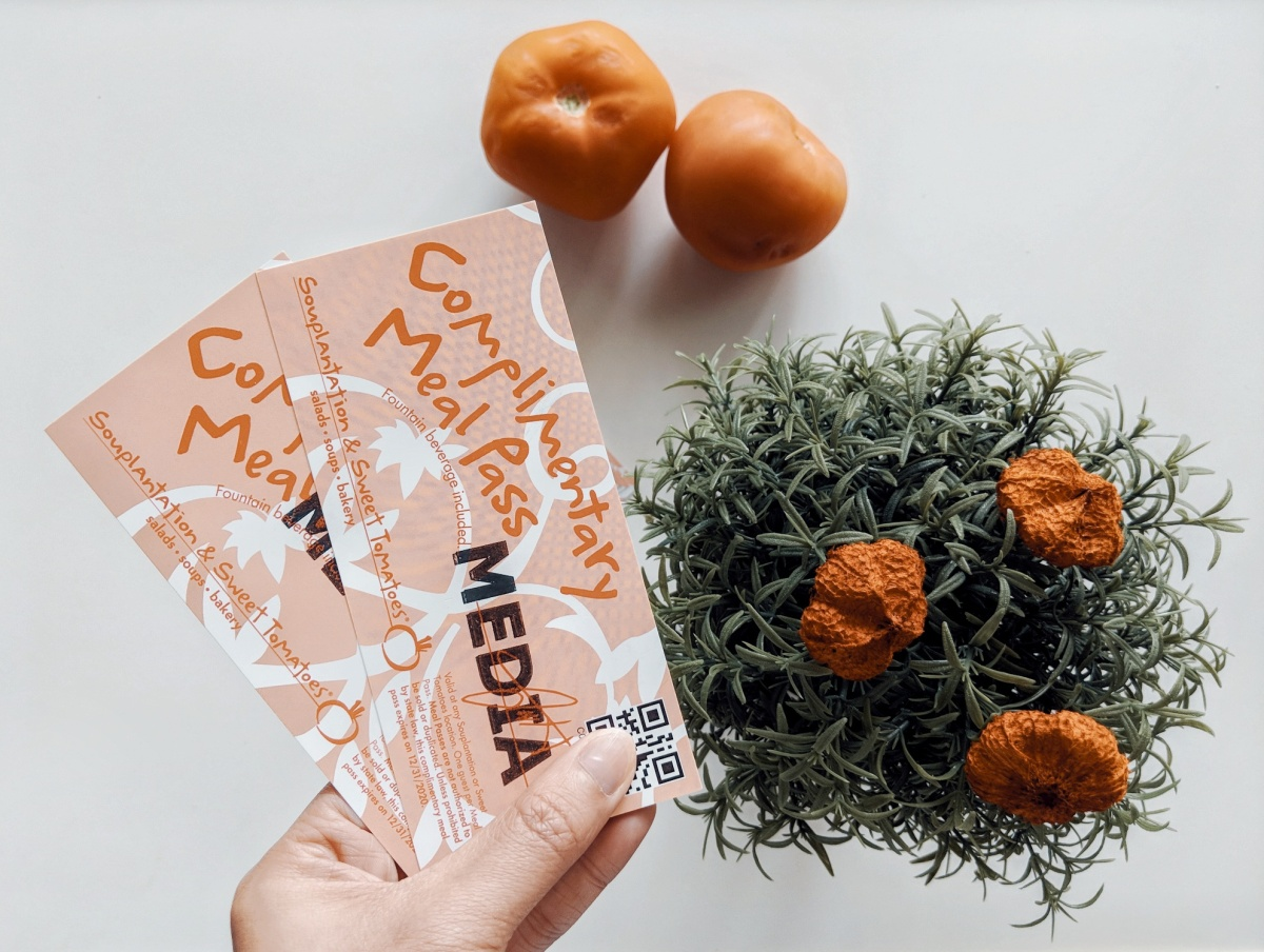 Sweet Tomatoes Experience +GIVEAWAY