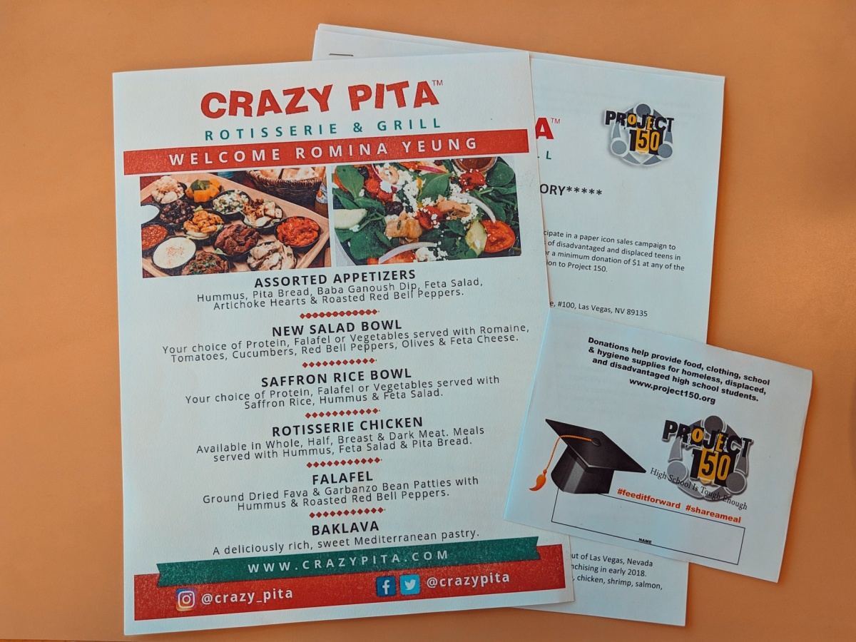 Crazy Pita Fall Dining and Project 150 InfluencerEvent